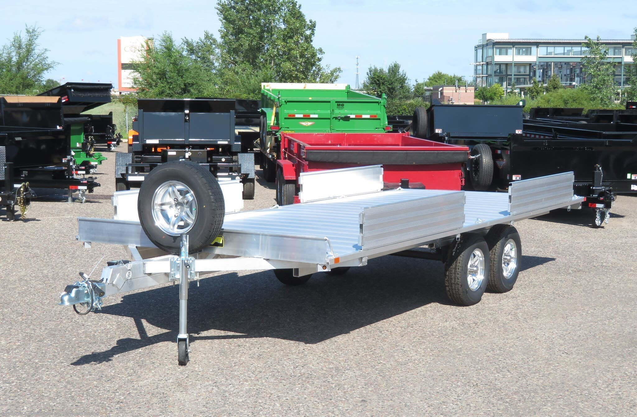 2022 Aluma A8818 Aluminum ATV Trailer - Stock #239092