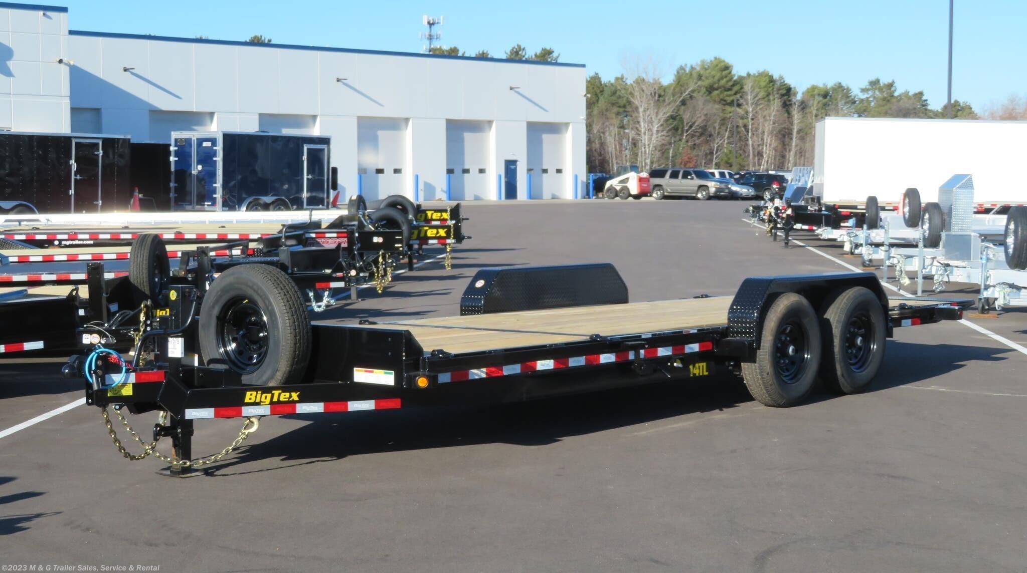 2021 Big Tex 22' Tilt Bed - 6' Stationary Deck - Stock #132143