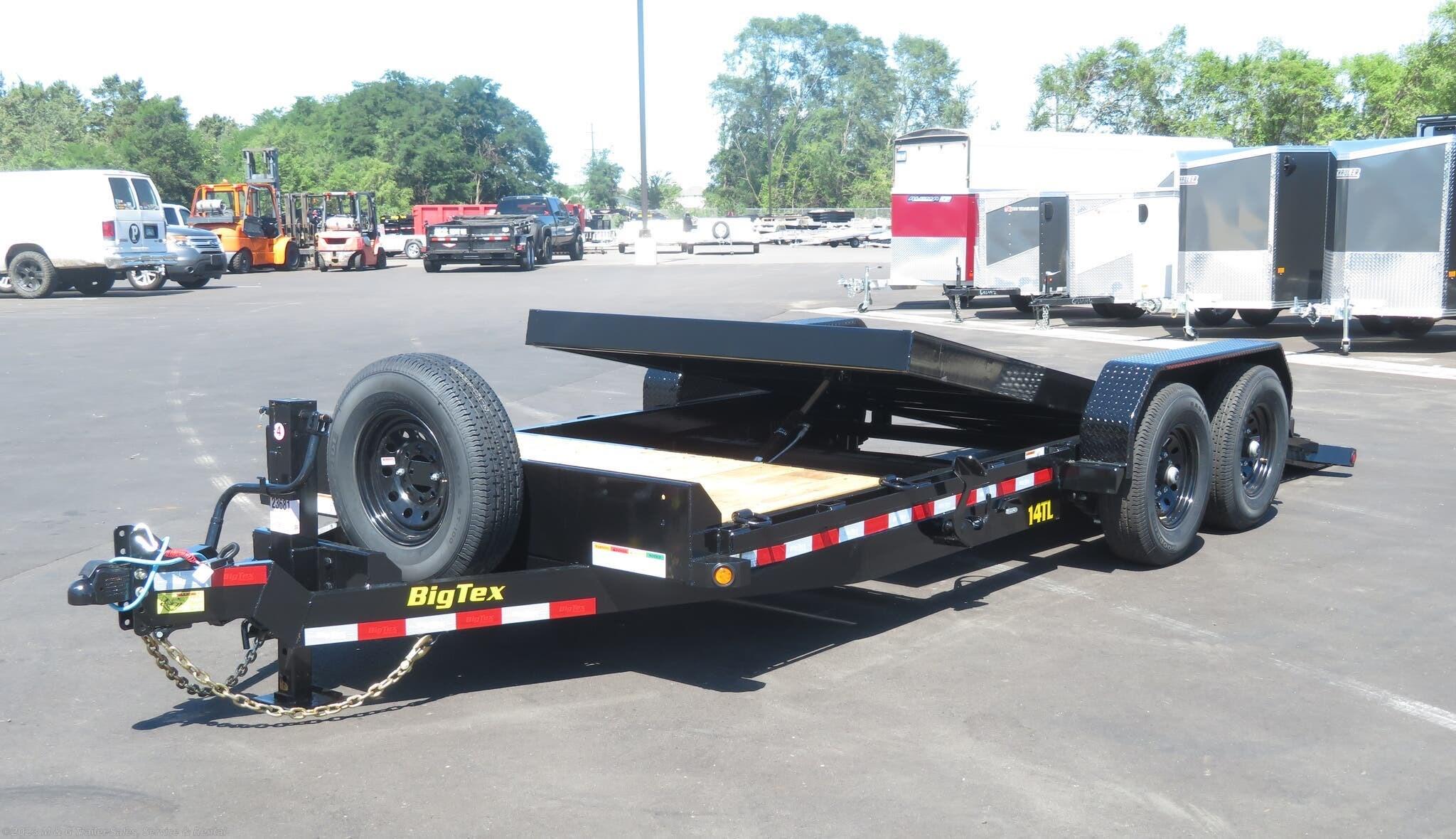 2022 Big Tex 20' Tilt Bed - 4' Stationary Deck - Stock #132070