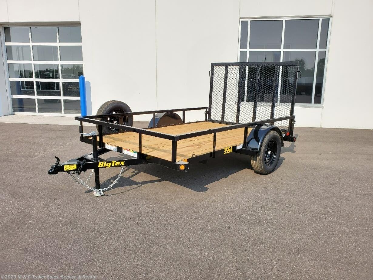 2022 Big Tex 77x10' SA Utility Trailer - Stock #140050