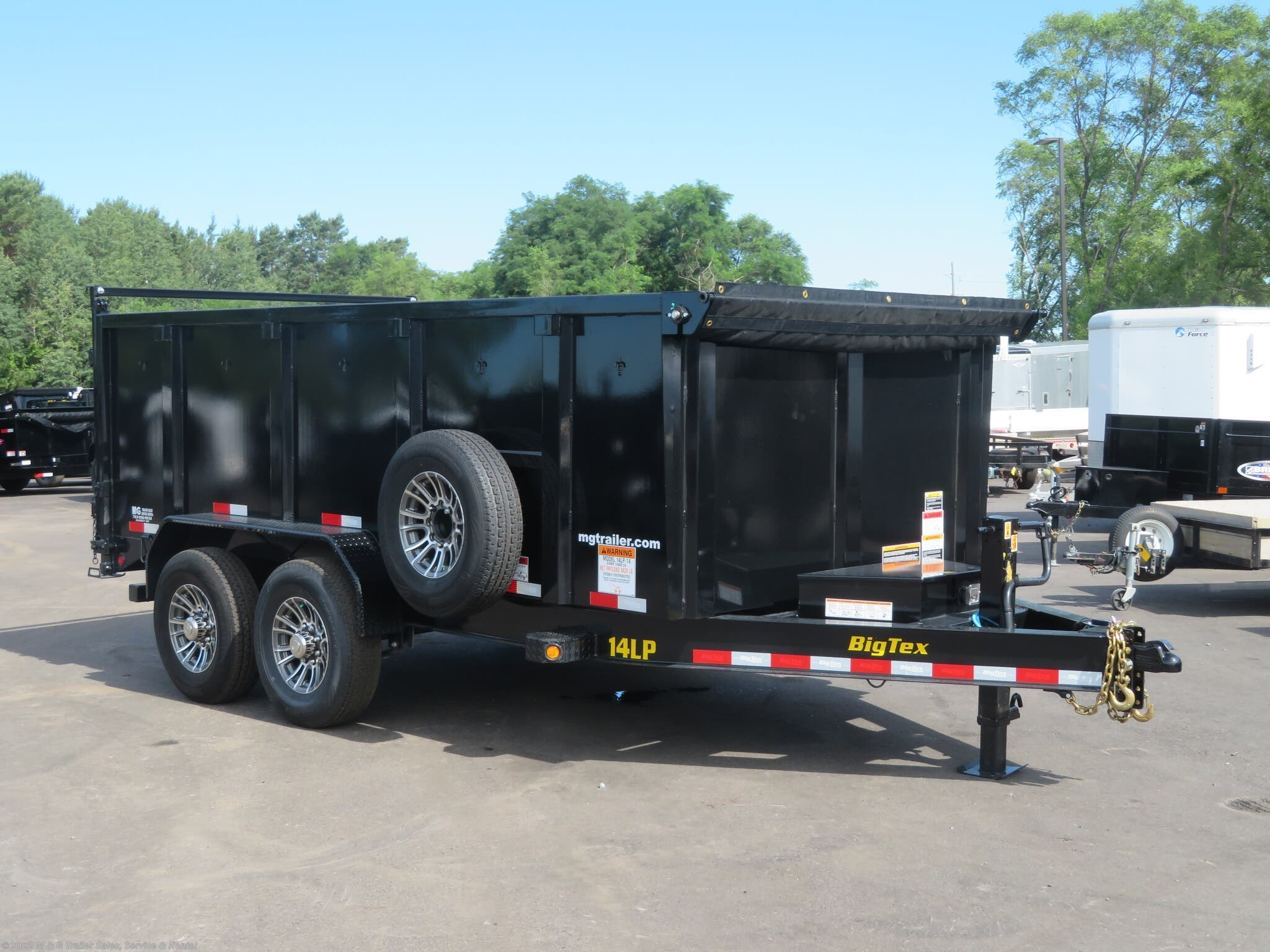 2022 Big Tex 14LP 14' With 4' High Side - Stock #132582