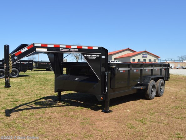 2021 Friesen 83X16 16k GOOSENECK DUMP HYDRAULIC JACKS! available in Fairland, OK