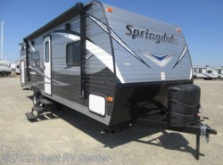 New 2018  Keystone Springdale 260TBWE TWO DOUBLE BUNKS/FRONT WALK AR /PACK&PLAY  by Keystone from Best RV Center in Turlock, CA