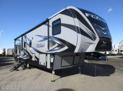 New 2017  Keystone Fuzion FZ369  X-EDITION PKG/ /11 Ft. GARAGE/ 6 PT HYDRAUL by Keystone from Best RV Center in Turlock, CA