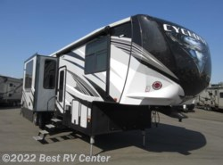 New 2018  Heartland RV Cyclone 3513 THREE SEASONS PATIO DOOR / 6 PT HYDRAULIC AUT by Heartland RV from Best RV Center in Turlock, CA