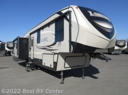 New 2018  Keystone Laredo 358BP Butler's Pantry/Office/ 3 Slide Outs/ Rear L by Keystone from Best RV Center in Turlock, CA