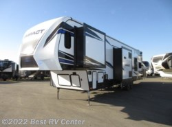 New 2019 Keystone Fuzion Impact 367 6 Point Hydraulic Auto Leveling/ 13Ft Garage/ available in Turlock, California