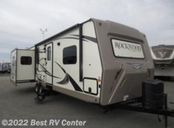 Used 2016  Forest River Rockwood Ultra Lite 2703WS SOLID SURFACE/ Three Slideouts / Rear Enter by Forest River from Best RV Center in Turlock, CA