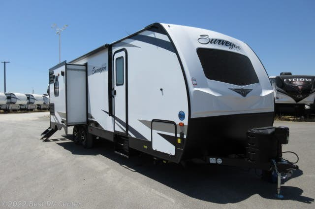 Best Travel Trailers 2020.2020 Forest River Rv Surveyor 265rlds Rear Living Island Kitchen Two Entry Do For Sale In Turlock Ca 95382 22212
