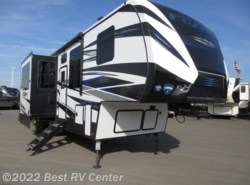 New 2018  Keystone Fuzion FZ357 13.6 Ft Garage/ 6 Pt Hydraulic Auto Leveling by Keystone from Best RV Center in Turlock, CA