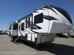 New 2018 Dutchmen Voltage 4205 Mid Bunk Room/ 12FT Garage /6 Pt Hydr /Two Ba available in Turlock, California