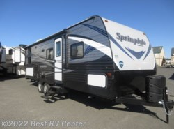New 2019  Keystone Springdale 240BHWE Rear Double Bunks/ Outdoor Kitchen/U-Shape by Keystone from Best RV Center in Turlock, CA