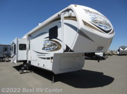 Used 2014  Keystone Montana 3402RL Rear Living/ Four Slideouts by Keystone from Best RV Center in Turlock, CA