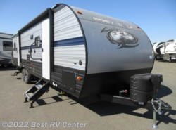 New 2019 Forest River Cherokee Grey Wolf 27RR Toy Hauler/ Ramp Door Patio System/ Slide Out available in Turlock, California