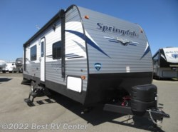 New 2019 Keystone Springdale 27TH Toy Hauler/ 15FT Cargo Area/ Front Walkaround available in Turlock, California