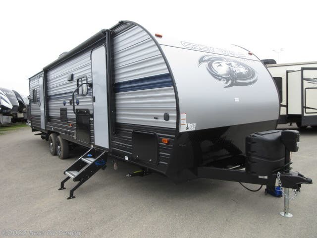 2019 Forest River Cherokee Grey Wolf 27RR Toy Hauler/ Ramp