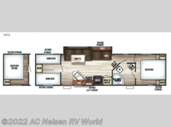 New 2017  Forest River Cherokee Grey Wolf 29TE by Forest River from AC Nelsen RV World in Shakopee, MN