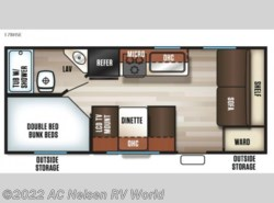 New 2018  Forest River Cherokee Cascade 17BHSE by Forest River from AC Nelsen RV World in Shakopee, MN