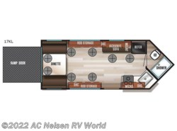 New 2018  Forest River Cherokee Ice Cave 17KL by Forest River from AC Nelsen RV World in Shakopee, MN