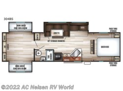 New 2019  Forest River Cherokee 304BS by Forest River from AC Nelsen RV World in Shakopee, MN