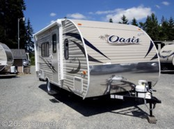 New 2018  Shasta Oasis 18FQ by Shasta from Sunset RV in Bonney Lake, WA