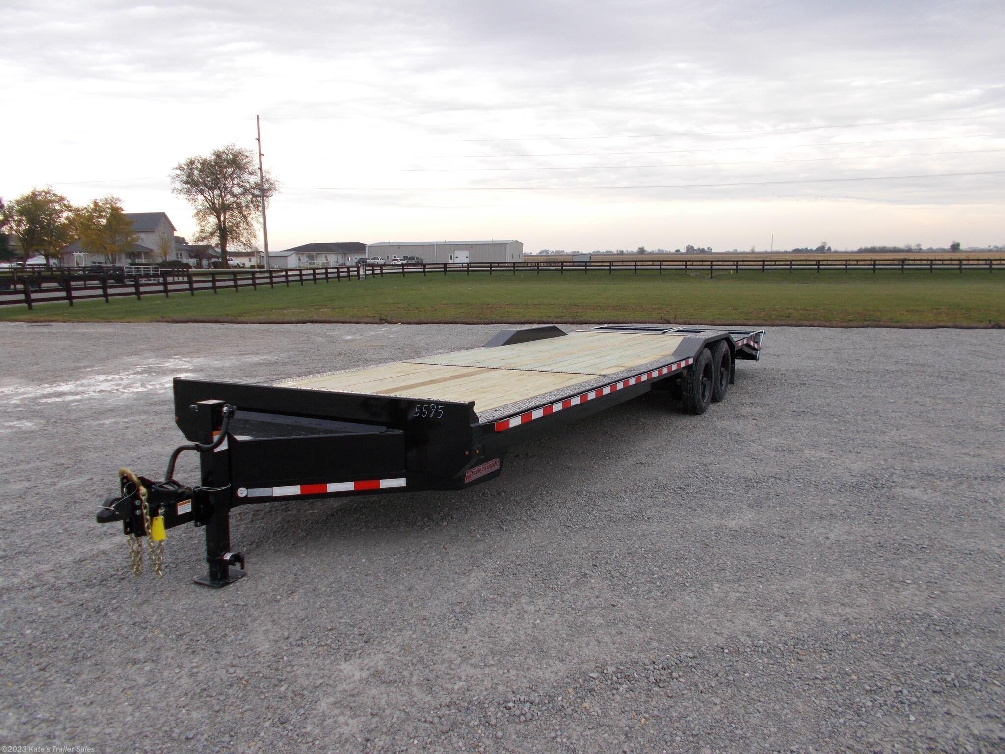 2021 Midsota 102X28' Equipment Trailer 17600 LB GVWR Flatbed - Stock #5585