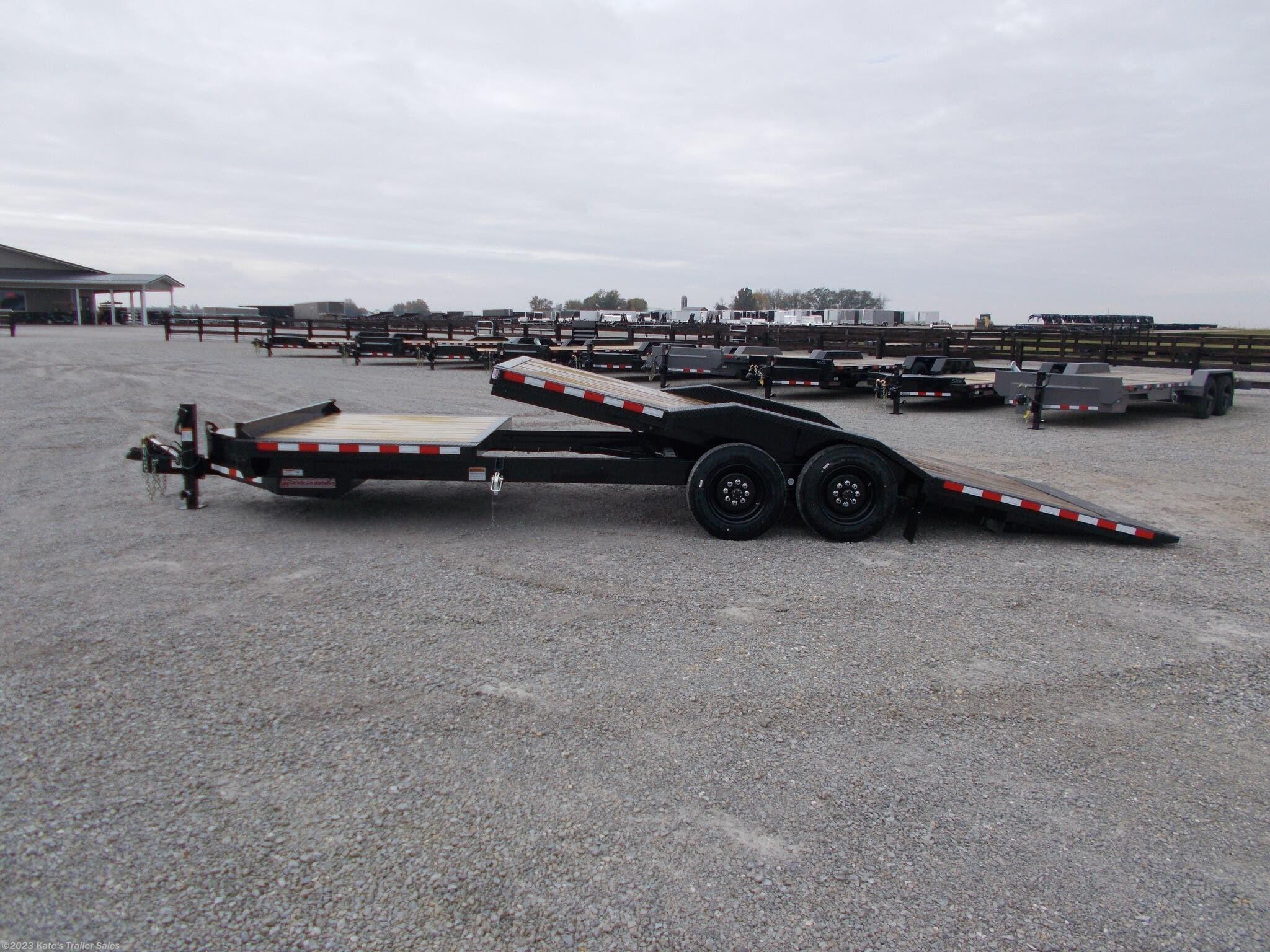 2021 Midsota 24' Tilt Equipment Trailer 102X24' Tilt 17.6K GVWR - Stock #6094