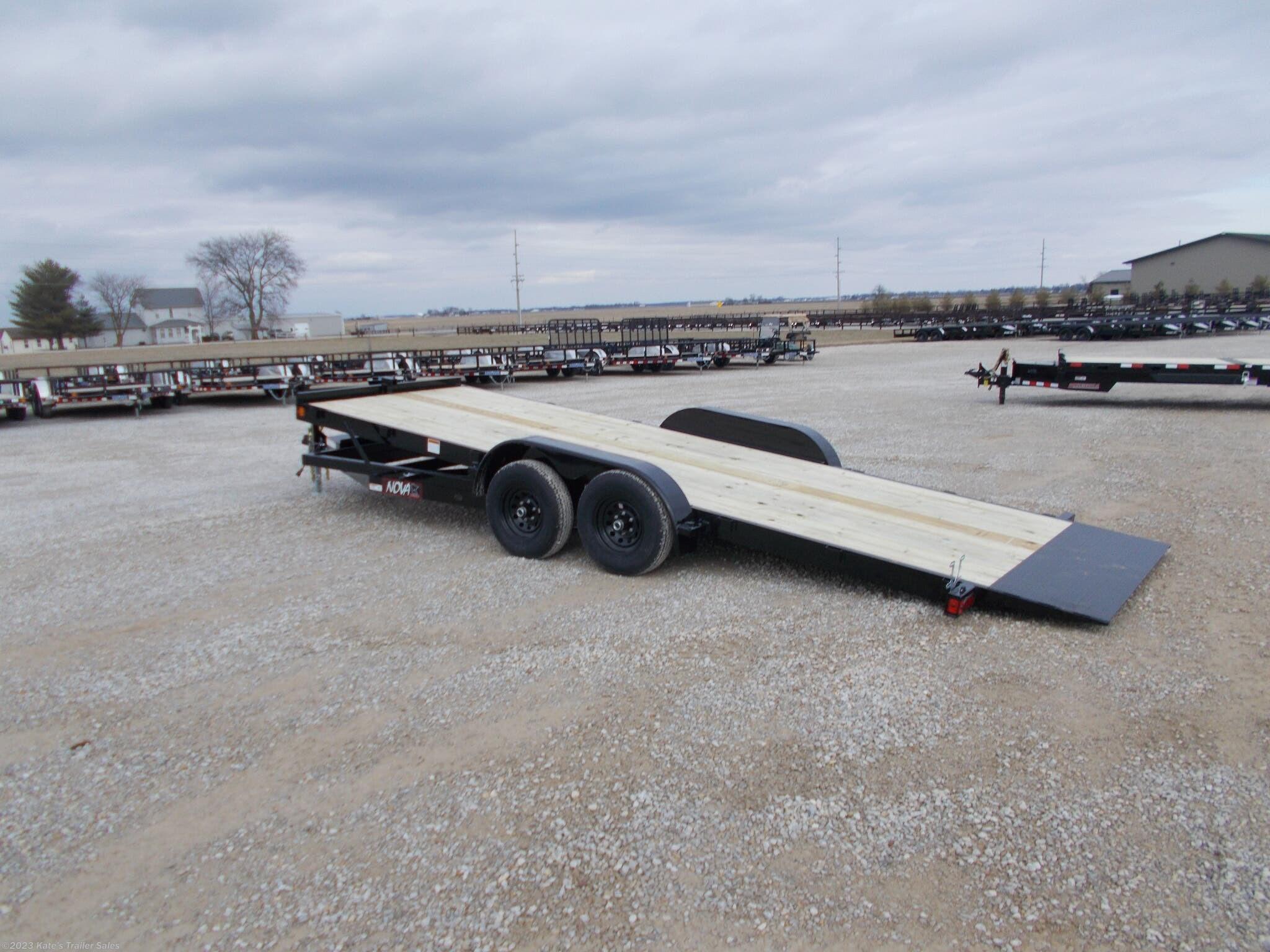 2021 Midsota 82X20' Gravity Tilt Trailer 9990 LB GVWR - Stock #6095