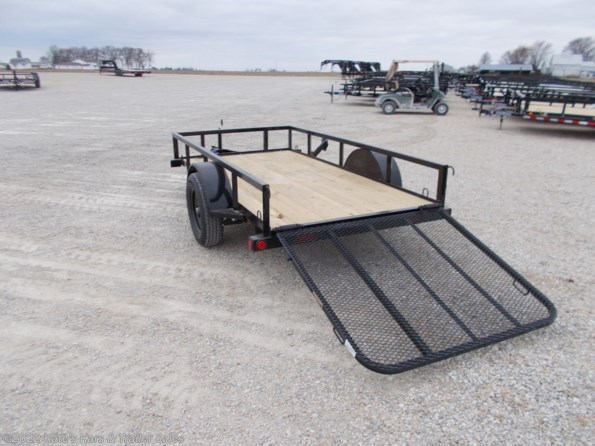 2021 Load Trail 60X10 Single Axle Utility Trailer available in Arthur, IL