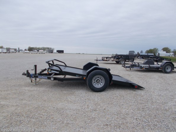 2021 Load Trail 77X12 Single Axle Scissor Lift Hauler available in Arthur, IL
