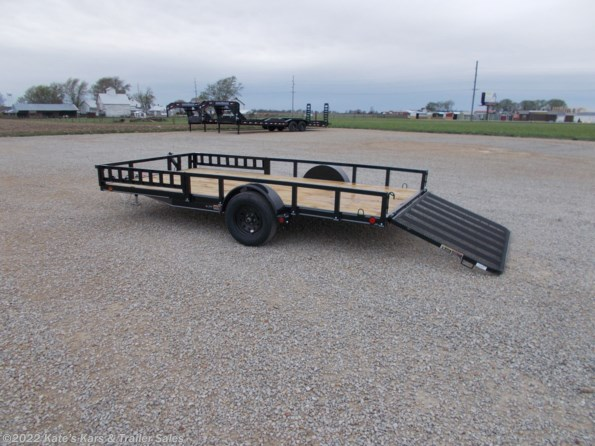 2021 Load Trail 83X14 Utility Trailer ATV UTV Side Rail Ramps available in Arthur, IL