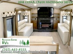 New 2018  Forest River Cedar Creek Hathaway Edition 38FLX by Forest River from Redwood Empire RVs in Ukiah, CA