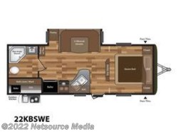 New 2018  Keystone Hideout Luxury 22KBSWE by Keystone from U-Neek RV Center in Kelso, WA