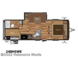 New 2018  Keystone Hideout Luxury 24BHSWE by Keystone from U-Neek RV Center in Kelso, WA