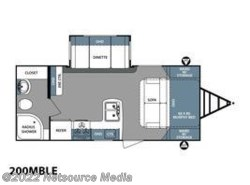 New 2018  Forest River Surveyor Couples Coach 200MBLE by Forest River from U-Neek RV Center in Kelso, WA