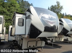 New 2018  Forest River Sandpiper 379FLOK by Forest River from U-Neek RV Center in Kelso, WA