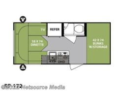 New 2018  Forest River R-Pod Ultra Lite RP-172 by Forest River from U-Neek RV Center in Kelso, WA