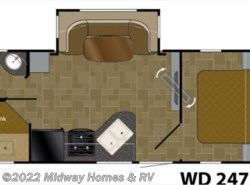 New 2018  Heartland RV Wilderness 2475BH by Heartland RV from Midway Homes & RV in Grand Rapids, MN