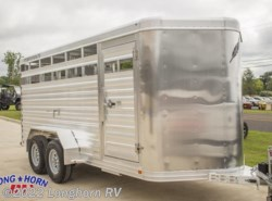 "New 2018  Featherlite  Stock Trailer 8107 - 16 ft. 16' (6'7"" w x 6'6"" h) by Featherlite from Longhorn RV in Mineola, TX"