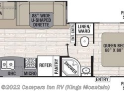 New 2017  Coachmen Freedom Express 281RLDS by Coachmen from Campers Inn RV in Kings Mountain, NC