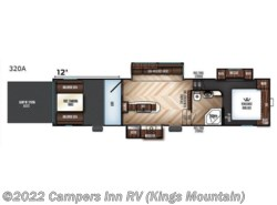 New 2018  Forest River Vengeance 320A by Forest River from Campers Inn RV in Kings Mountain, NC