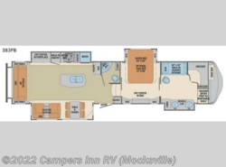 New 2018  Palomino Columbus F383FB by Palomino from Campers Inn RV in Mocksville, NC