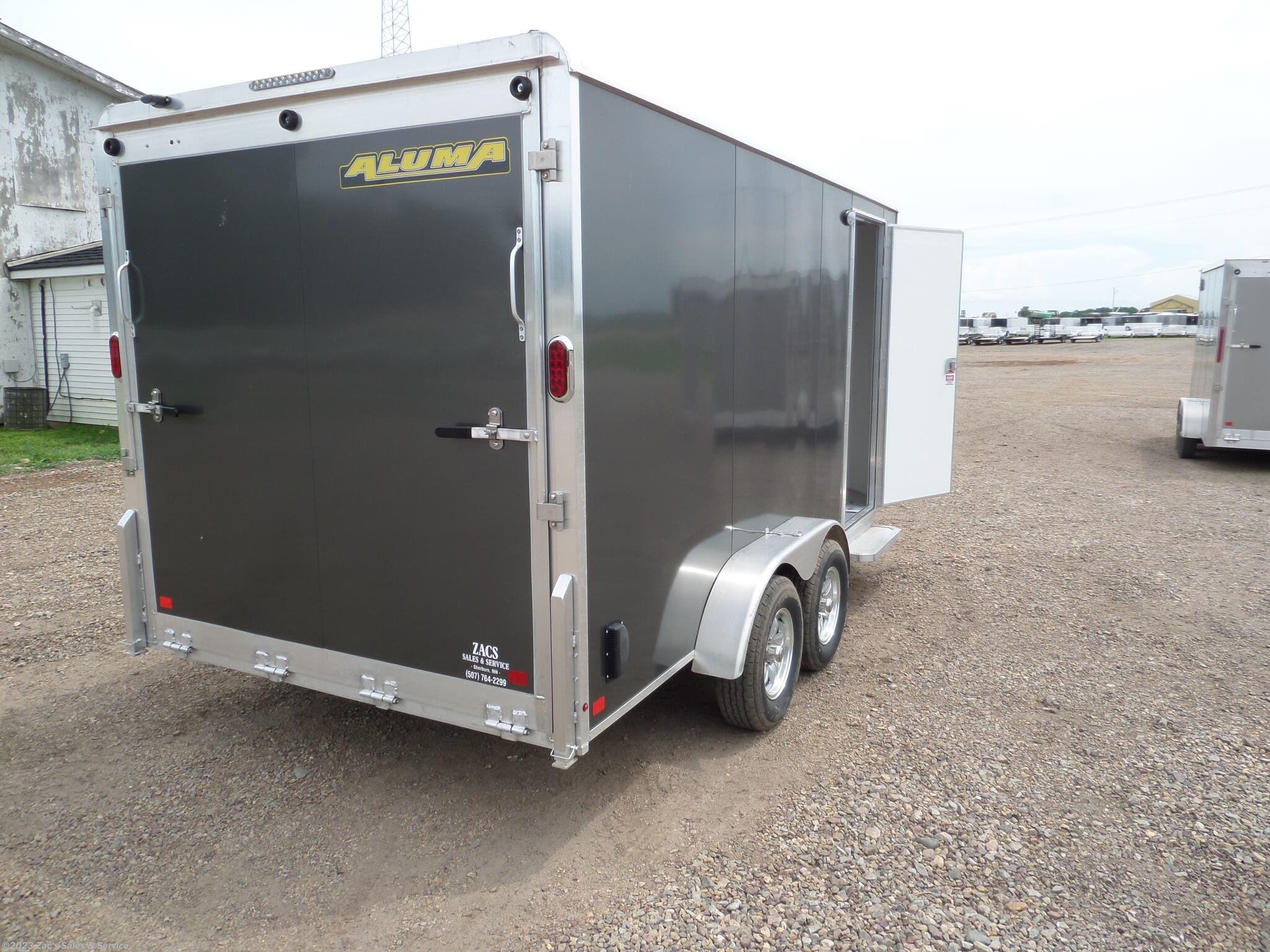 Cargo Trailer 2020 Aluma Ae714tar Trailersusa