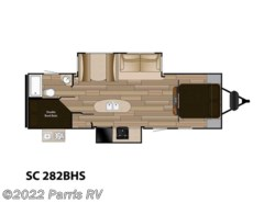 Used 2016 Cruiser RV Shadow Cruiser SC 282BHS available in Murray, Utah