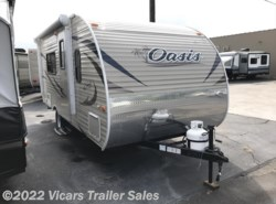 New 2018  Shasta Oasis 18FQ by Shasta from Vicars Trailer Sales in Taylor, MI