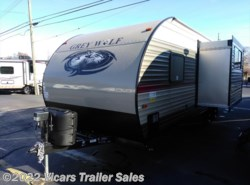 New 2018  Forest River Grey Wolf 23DBH by Forest River from Vicars Trailer Sales in Taylor, MI