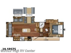 New 2018  Jayco Eagle HT Fifth Wheels 28.5RSTS by Jayco from Vogt RV Center in Ft. Worth, TX