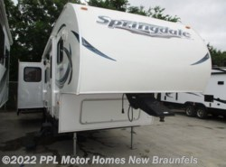 Used 2013  Keystone Springdale 253 FWRLLS by Keystone from PPL Motor Homes in New Braunfels, TX