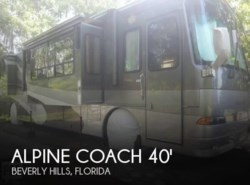 Used 2006  Western RV Alpine Coach 40FD Quad Slide Limited Motorhome by Western RV from POP RVs in Sarasota, FL