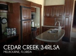 Used 2014 Forest River Cedar Creek 34RLSA available in Sarasota, Florida
